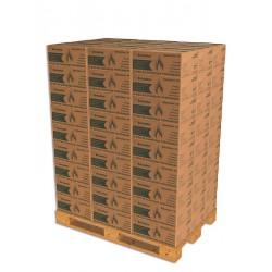 1 Palette de Selection 10 -Soit 81 cartons Bûches densifiées de jour