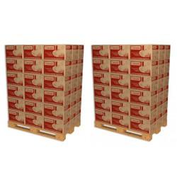 2 Palettes soit 108 Cartons de Bûches de chauffage