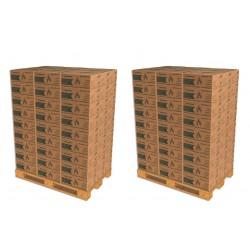 2 Palettes de Selection 10 - Soit 162 Cartons de Bûche densifiées de jour