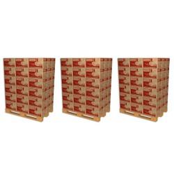 3 Palettes soit 108 Cartons de Bûches de chauffage