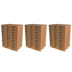 3 Palettes de Selection 10- Soit 243 Cartons de Bûches densifiées de jour
